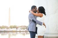 Ebony + Symon :: jefferson memorial, washington dc